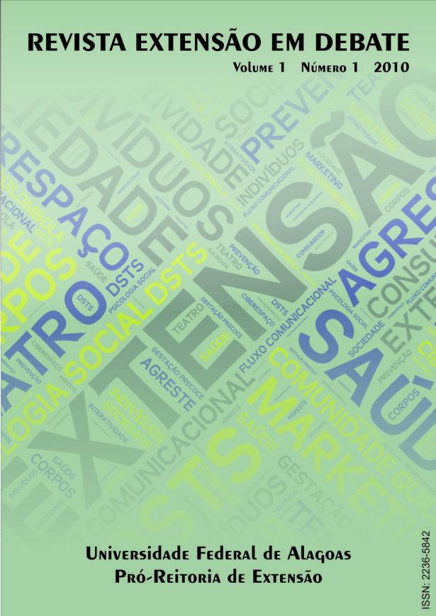 Esta edição eletrônica objetiva divulgar a produção científica vinculada a extensão universitária, desenvolvida na UFAL e em outras instituições brasileiras e internacionais.
