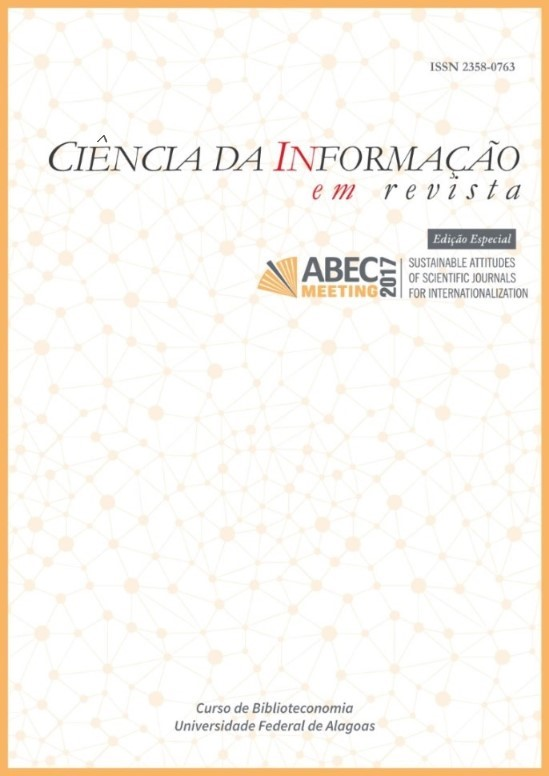 Visualizar v. 5, n. esp., ABEC MEETING (2018)