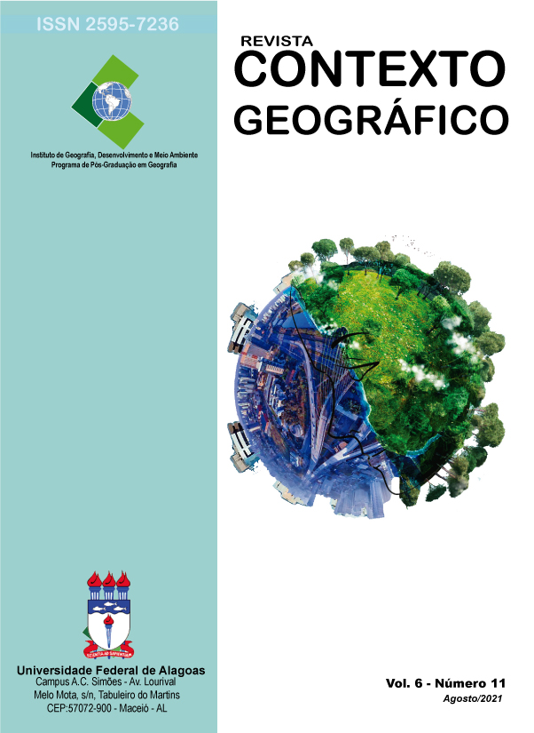 Visualizar v. 6 n. 11 (2021): Revista Contexto Geográfico